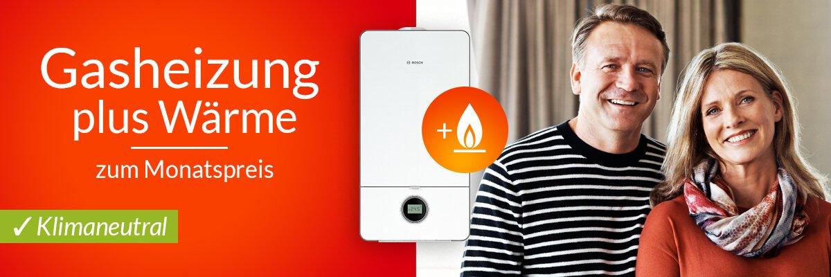 Wärmecontracting: Gasheizung plus Wärme mieten