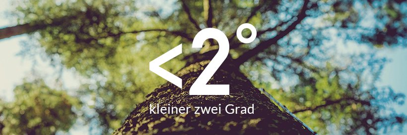 Kleiner Zwei Grad Abbildung mit Baum